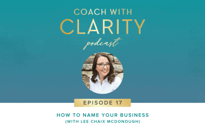 Episode 17: How to Name Your Business