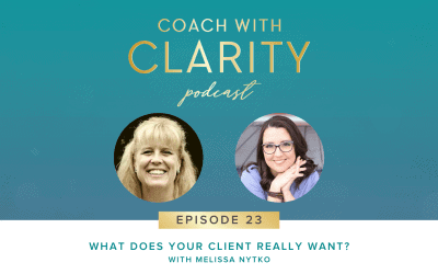 Episode 23: [Coaching Call] What Does Your Client Really Want? with Melissa Nytko