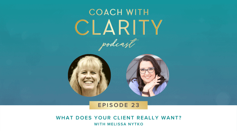 Melissa Nytko Coach with Clarity Podcast Lee Chaix McDonough