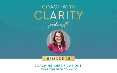 Episode 25: Coaching Certifications: What You Need to Know