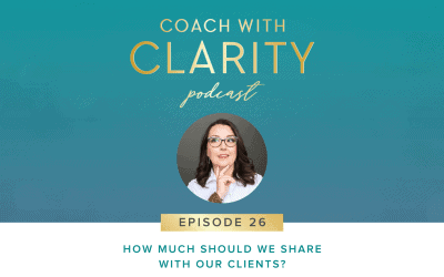 Episode 26: How Much Should We Share with Our Clients?