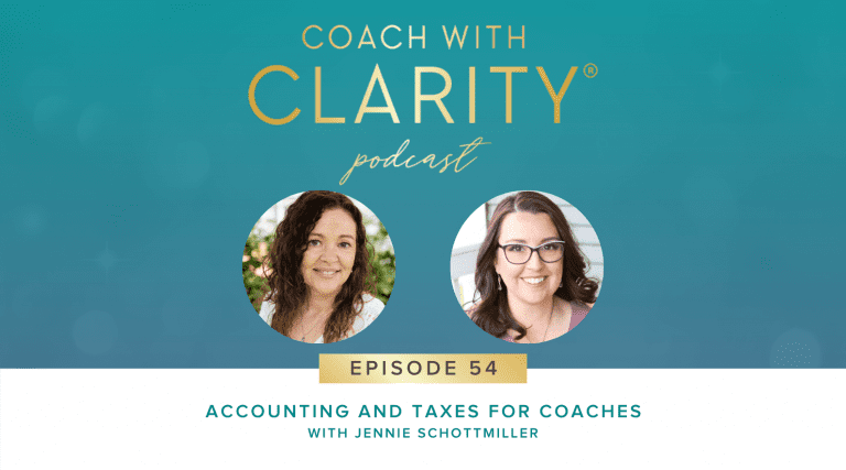 Jennie Schottmiller Coach with Clarity Podcast