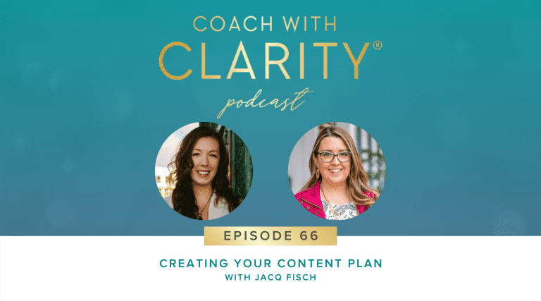 Jacq Fish Coach with Clarity Ep 66 Blog